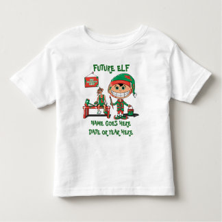 Personalized Baby or Toddler Christmas Clothing Toddler T-shirt