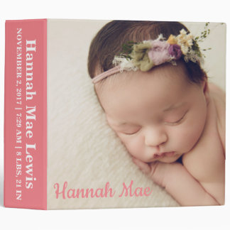 Personalized Baby Photo Binder