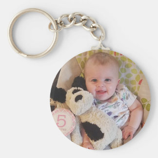 Personalized Baby Photo Key Chain