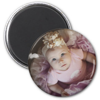 Personalized Baby Photo Magnets