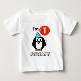 Personalized babys 1st Birthday party shirt