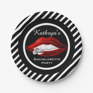Personalized Bachelorette Party Paper Plate