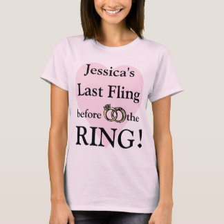 Personalized Bachelorette Party t-shirts