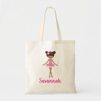Personalized Ballerina Ballet Class Tote Bag