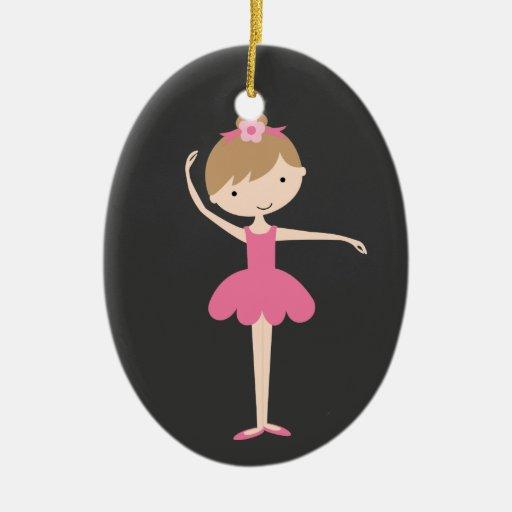 Personalized Ballerina Christmas Ornament