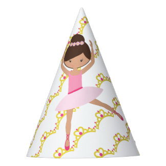 Personalized Ballerina Princess Party Hat