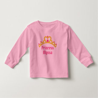 Personalized Ballerina Princess Toddler T-shirt