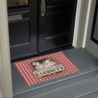 Personalized Barbecue Doormat