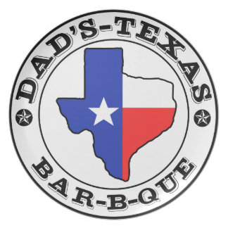 Personalized Barbecue Grill Plate for Dad