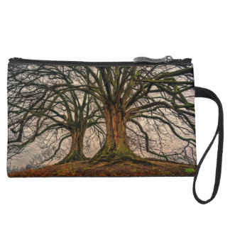 Personalized Bare Trees Wristlet