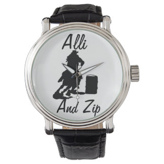 Personalized Barrel Racing Watch