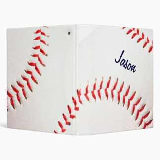 Personalized Baseball Binder