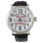 Personalized Baseball Coach Gifts BASEBALL WATCHES