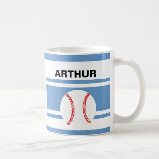 Personalized Baseball Coffee Mugs