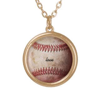 Personalized Baseball Fan Women's Necklace