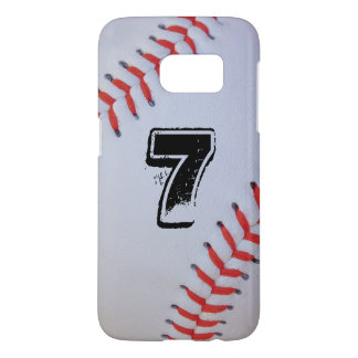 Personalized Baseball Jersey number S7 Case