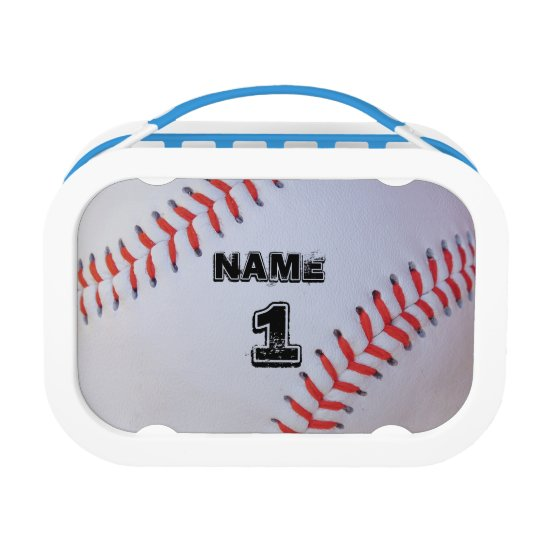 Personalized Baseball lunch box