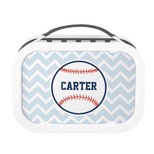 Personalized Baseball Lunchbox