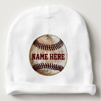 Personalized Baseball Newborn Hats for Boys Baby Beanie