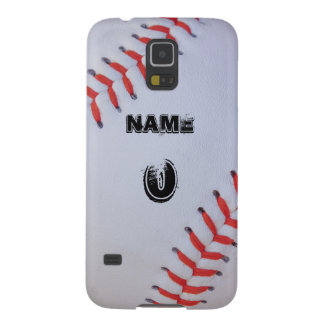 Personalized baseball phone case galaxy s5 case