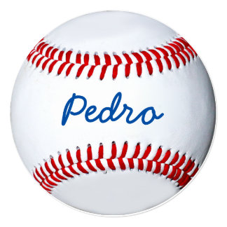 """Personalized Baseball Photo Design 5.25"""" Square Invitation Card"""