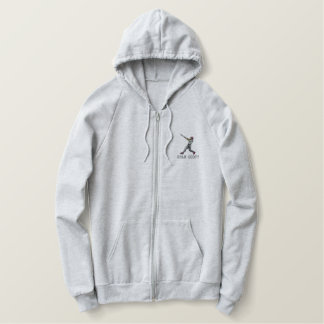 Personalized Baseball Player Embroidered Apparel Embroidered Hoodie