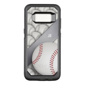 Personalized Baseball | Sport Gift OtterBox Commuter Samsung Galaxy S8 Case
