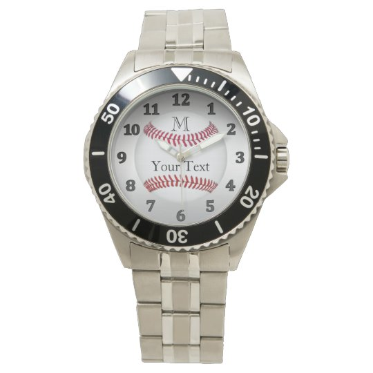 PERSONALIZED Baseball Watches for Men and Boys