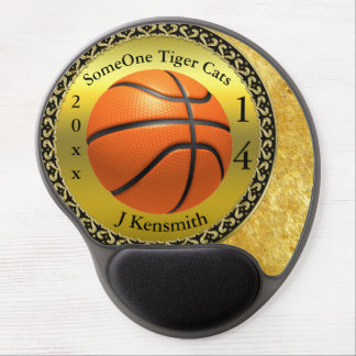 Personalized Basketball Champions League design Gel Mouse Pad
