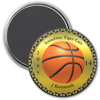 Personalized Basketball Champions League design Magnet