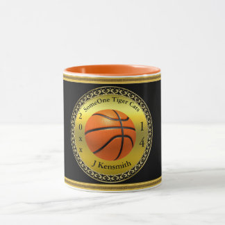 Personalized Basketball Champions League design Mug