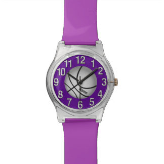 Personalized Basketball Watch for Girls Your Color
