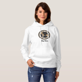 Personalized Basset Hound Dog Lovers Hoodie