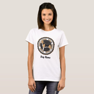 Personalized Basset Hound Dog Lovers T-Shirt