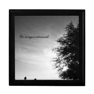 "Personalized ""Be inspirational"" Gift Box"