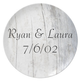 Personalized Beach Driftwood Plate