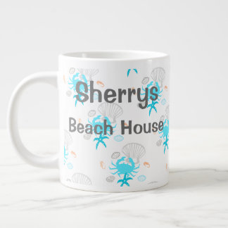 Personalized Beach House Coffee Mug