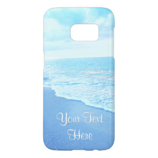 Personalized Beach Phone Cases with YOUR TEXT