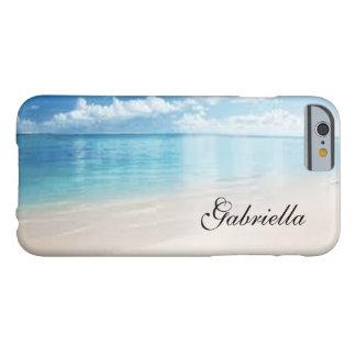 Personalized Beach Scene Phone Case