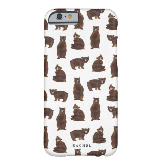 Personalized Bears Barely There iPhone 6 Case
