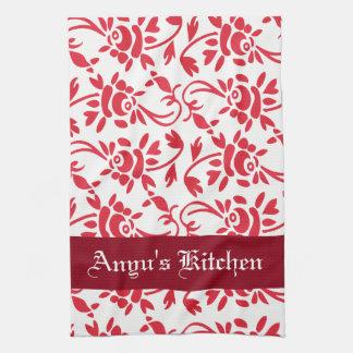 Personalized Beautiful Hungarian Art Kitchen Towel