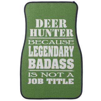 Personalized Because Job Title Legendary Badass Car Floor Carpet