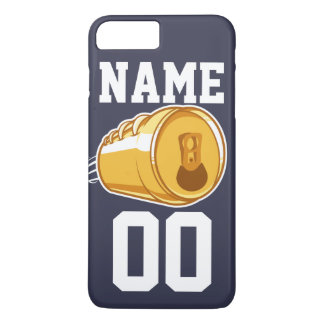 Personalized Beer & Football iPhone 7 Plus Case