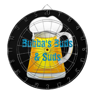Personalized Beer Mug Dart Board