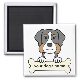 Personalized Bernese Mountain Dog Magnet