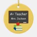 Personalized Best Teacher Chalkboard