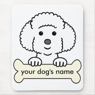Personalized Bichon Frise Mouse Pad