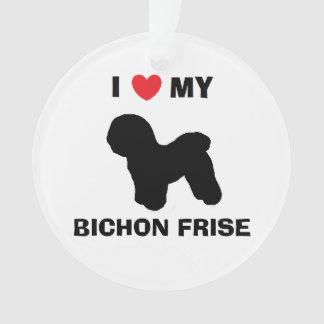 Personalized Bichon Frise Ornament