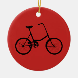 Personalized Bicycle Ceramic Ornament