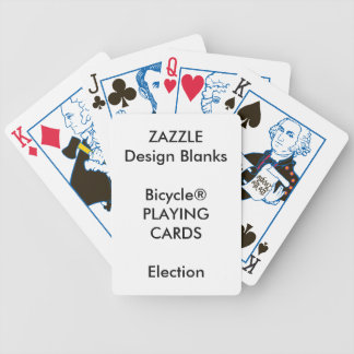Personalized Bicycle® ELECTION Playing Cards
